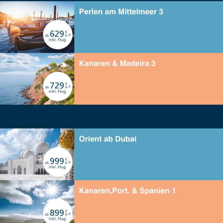 Kreuzfahrten ab 629€ mit Flug AIDA Black Friday 2017