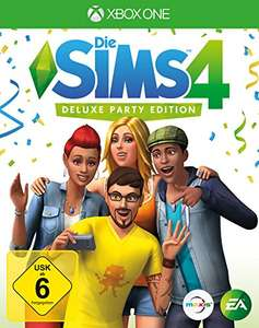 Amazon, Sims 4  Deluxe Party Edition für X-Box 43,79€