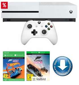Xbox One S + Forza 3 + Hot Wheels DLC für 149,99€ (Quelle)