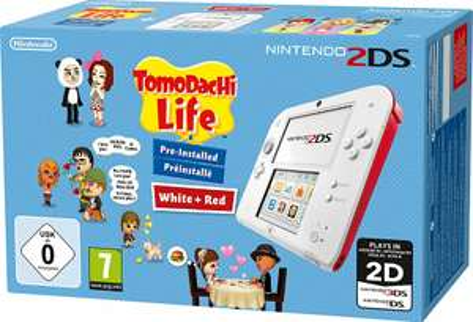 (Quelle)   Nintendo 2DS inkl. Tomodachi Life für 79,99€ bzw. 64,99€ für Neukunden