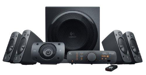 [Amazon UK] Logitech Z906 3D Stereo Lautsprecher THX (Dolby 5.1 Surround Sound und 500 Watt) schwarz
