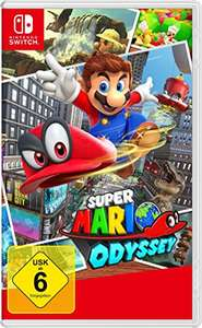 [Amazon Prime] Super Mario Odyssey Nintendo Switch (Retail/Cartridge)