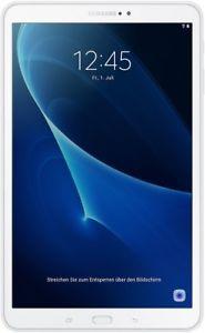 Samsung Galaxy Tab A 10.1 2016 T580N 16GB schwarz und weiß (WiFi only)