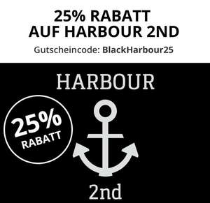 25% Rabatt auf alle Artikel der Marke Harbour 2nd [BLACK WEEKEND]