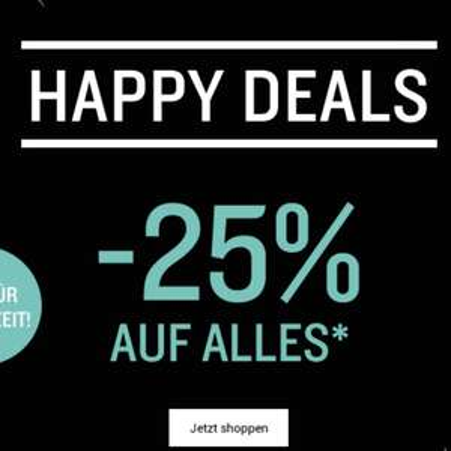 -25% auf alles bei Tom Tailor online bis zum 27.11., MBW 24€