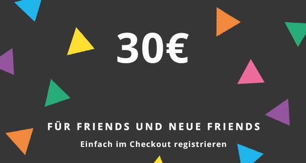 Esprit 30 € Rabatt für Esprit Friends, 20€ für alle anderen ab 75€ bis 26.11.17