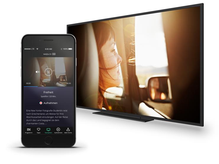 3 Monate gratis Streamingdienst waipu.tv testen