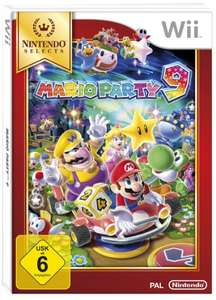 Mario Party 9 (17,88) + Mario Party 8 (17,51) - [Nintendo Wii] [Nintendo Selects] (Amazon Prime) + Mario Party 10 (Wii U) für 17,51