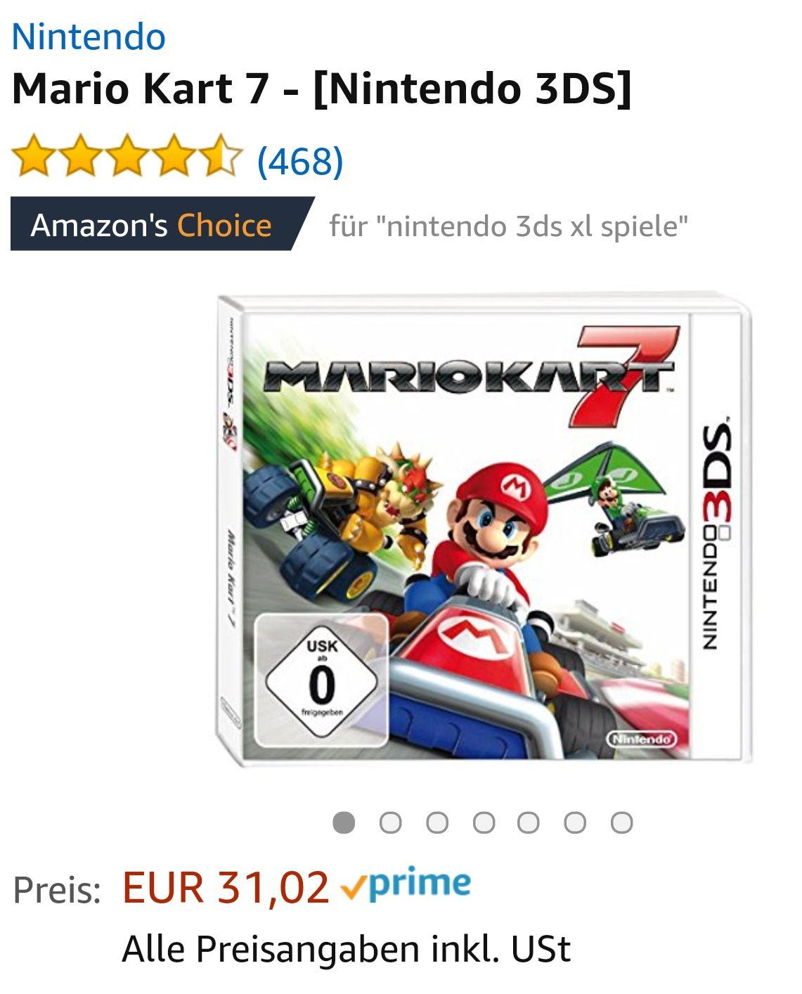 Mario Kart 7 für Nintendo 3DS
