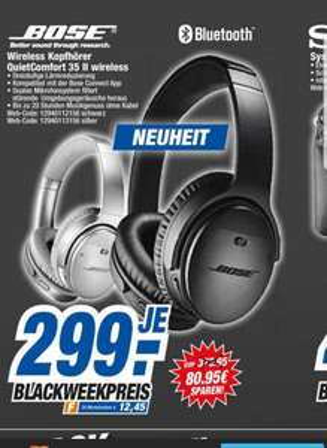 HEM Expert Baden-Württemberg Bose  quitecomfort 35 II Gen. für 299€