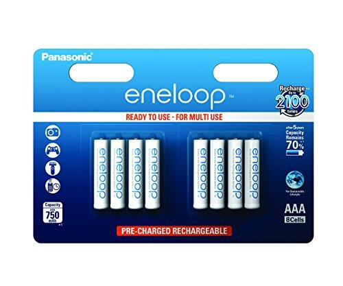 [Amazon Prime - Blitzangebot] Panasonic eneloop - 8er Pack - AAA // Für nicht Prime-Kunden nur 14,42 € inkl. Versand