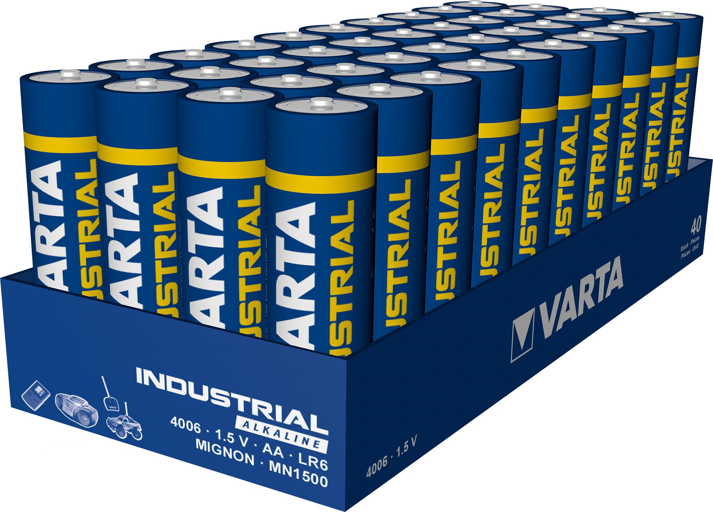 OTTO - Varta Batterien Mignon AA LR6 Vorratspack 40 Stück (0,22€ / Stück)