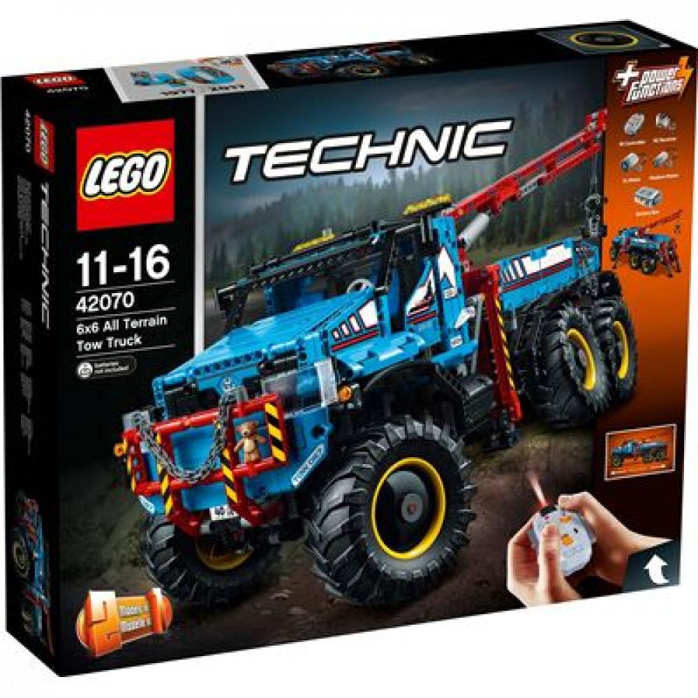 LEGO Technic - 42070 Allrad-Abschleppwagen Müller/ Online/Abholung