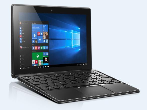 "[Notebooksandmore] Lenovo IdeaPad Miix 310-10ICR, 32GB Flash, 2GB RAM, Windows 10 Pro 10.1"", 1280x800, Multi-Touch, IPS (80SG006QGE)"