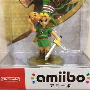 Amiibo-link-Majoras-Mask-The-legend-series-of-Zelda Japan Version
