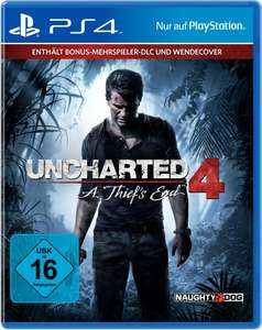 Uncharted 4: A Thief's End Standard Plus Edition (PS4) für 16,99€ (Otto)