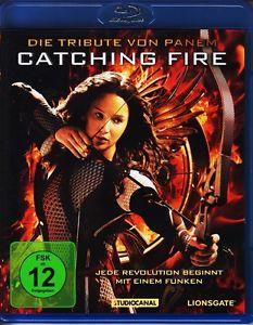 Die Tribute von Panem - Catching Fire BLU-RAY [Versand Kostenlos]