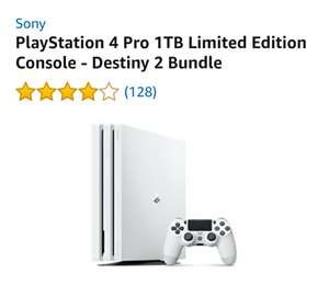 US - PlayStation 4 Pro 1TB Limited Edition Console - Destiny 2 Bundle