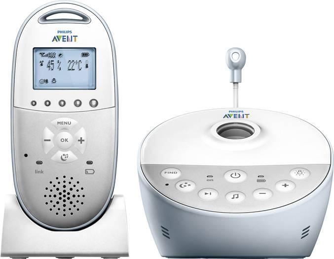 Philips Avent SCD580/00 Babyphone (Smart Eco Mode, Sternenhimmel-Projektor)