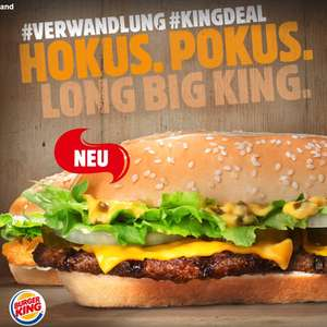 Long Chicken oder Long Big King für 1,99€ [Burger King]
