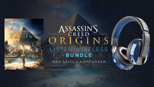 UBISTORE / AC Origins + Assassin's Creed Origins: Focal Listen Wireless Kopfhörer (Fehler im Warenkorb) Mit Uplaypkt 129,52 Euro