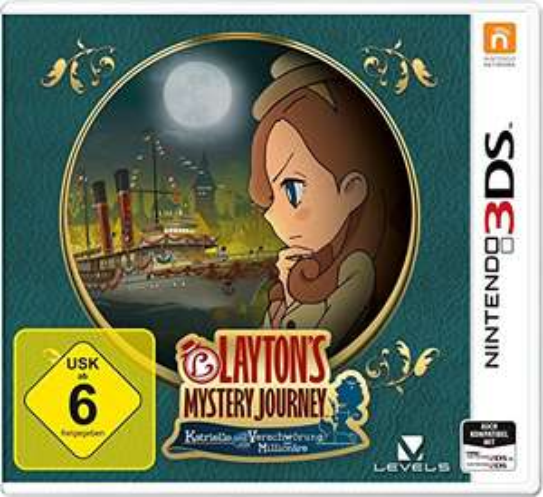 [3DS] Layton`s Mystery Journey: Katrielle und die Verschwörung der Millionäre - Standard Edition