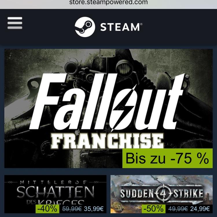 [STEAM] Bis zu 90% auf Steam-Games / Ark: 29,99€, Undertale: 4,99€, etc.