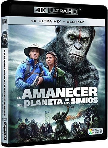 Planet der Affen: Revolution (4K Blu-ray + Blu-ray) für 15,60€ (Amazon.es)