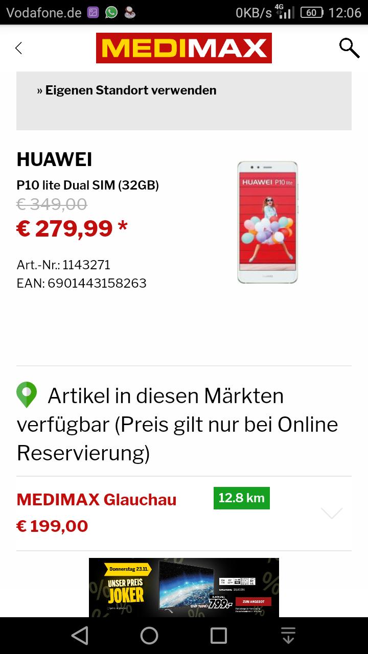 Huawei P10 lite - Medi Max