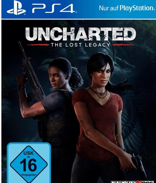 Uncharted: The Lost Legacy (PS4) für 14,99 € inkl. Versand - (Preis wird erst im Warenkorb angezeigt!)
