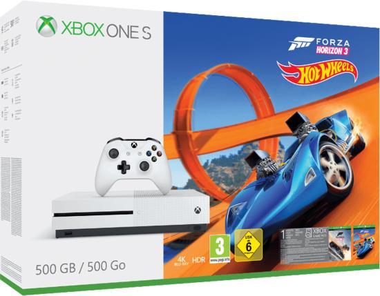 Xbox One S 500GB + Forza Horizon 3 + Hot Wheels bei GameStop für 149,99€ (Online+Store)