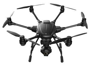 Amazon WHD YUNEEC Typhoon H Hexakopter (CGO3 plus Kamera 12 MP, 4K UHD Videofunktion, 17,8 cm (7 Zoll) Touchscreen, Intel-Prozessor) schwarz
