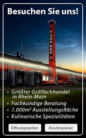 10 % Rabatt auf Grillseminare bei 360 bbq World Frankfurt am Main