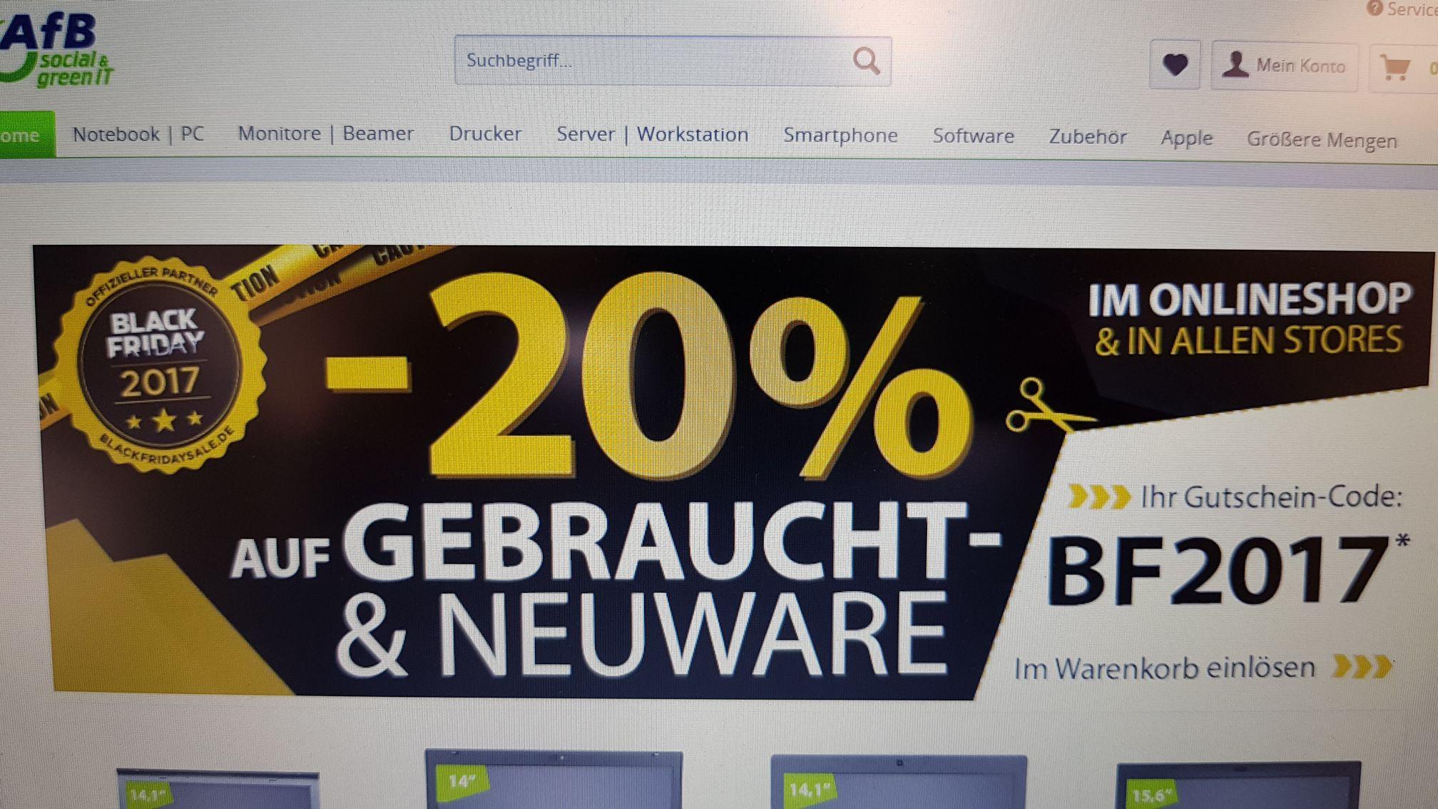 Afb-shop.de Social& green IT Gemeinnütziger Shop