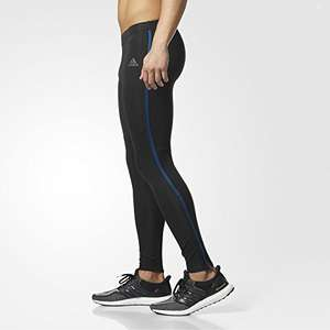 [Amazon] adidas Herren Response Long Tights (Black/Blue Night​) : Größen M,L,XL