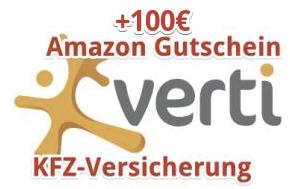 100€ Amazon Gutschein für eure KFZ-Versicherung bei Verti (ehemals DirectLine) und abo24