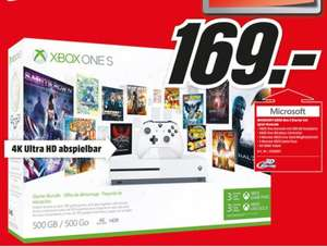 Media Markt Xbox One S Bundle Bundesweit
