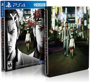 Yakuza Kiwami Day One Edition Steelbook Edition (PS4) für 17,62€ (Amazon.com)
