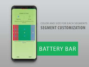 [Google Play] Battery Bar - Energy Bar - Power Bar (Android) kostenlos - statt 0,59 €