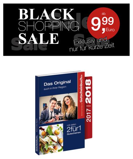 BLACK FRIDAY DEAL bei Gutscheinbuch.de - ab 9,99 €