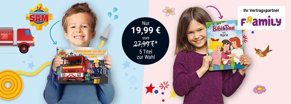 Framily Personalisierbare Kinderbücher wieder günstig via Tchibo