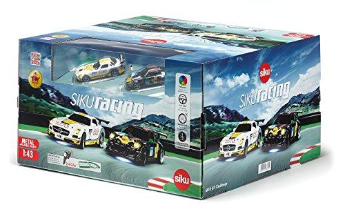 Müller offline und Amazon (Prime-Mitglieder) Siku 6810 GT-Challenge Autorennbahn