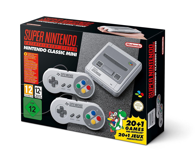(Wieder Verfügbar!))SNES Nintendo Classic Mini: Super Nintendo Entertainment System(Amazon.es)