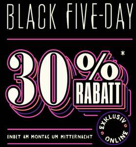Ted Baker: Black Five-Day - 30 % Rabatt am Black Five-Day‎