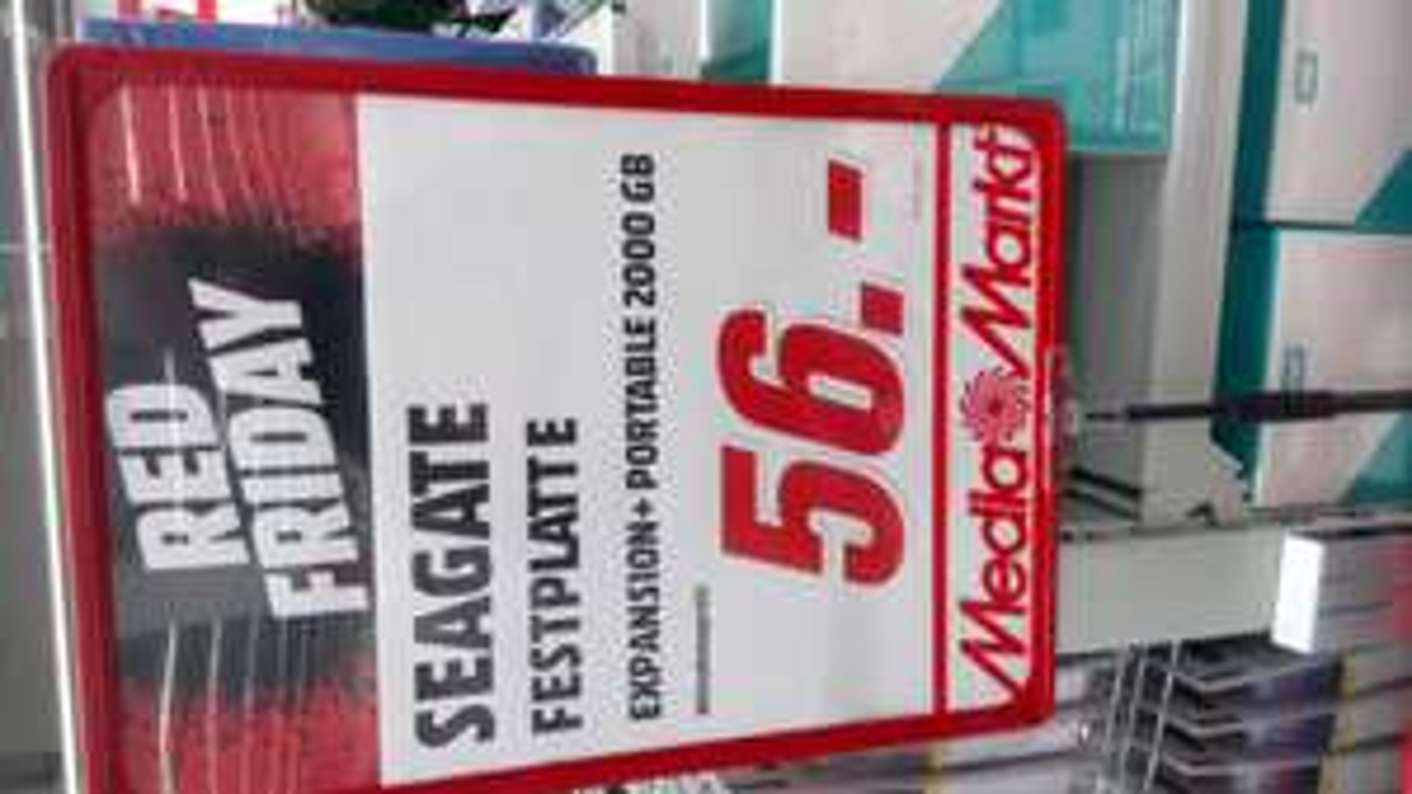 Seagate expansion + mit 2TB - Lokal MM Buchholz in der Nordheide