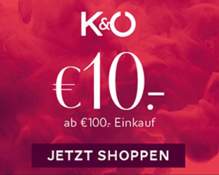 K&Ö - Kastner und Öhler - € 10 Gutschein MBW € 100