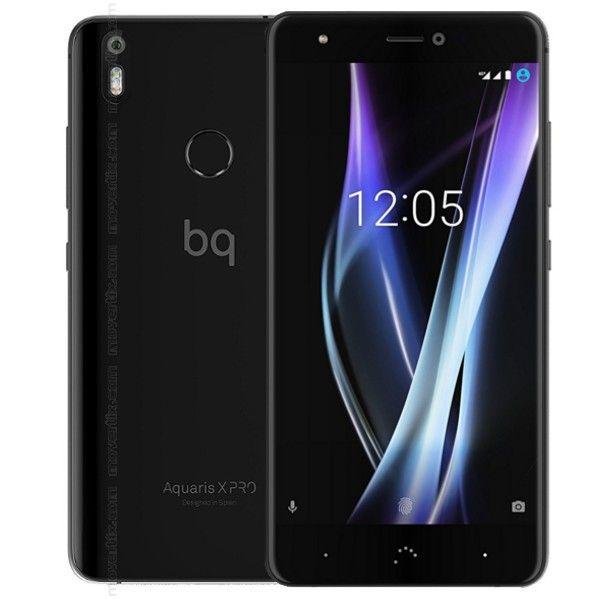 BQ Aquaris X Pro Smartphone schwarz 32GB 3GB RAM für 231,19€ | 64GB-Version 4GB RAM für 266,40€ | 128GB-Version 4GB RAM für 303,20€