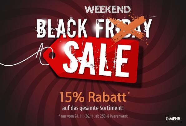Black Friday Möbel Schlichter 15% auf Alles 24.11 - 26.11