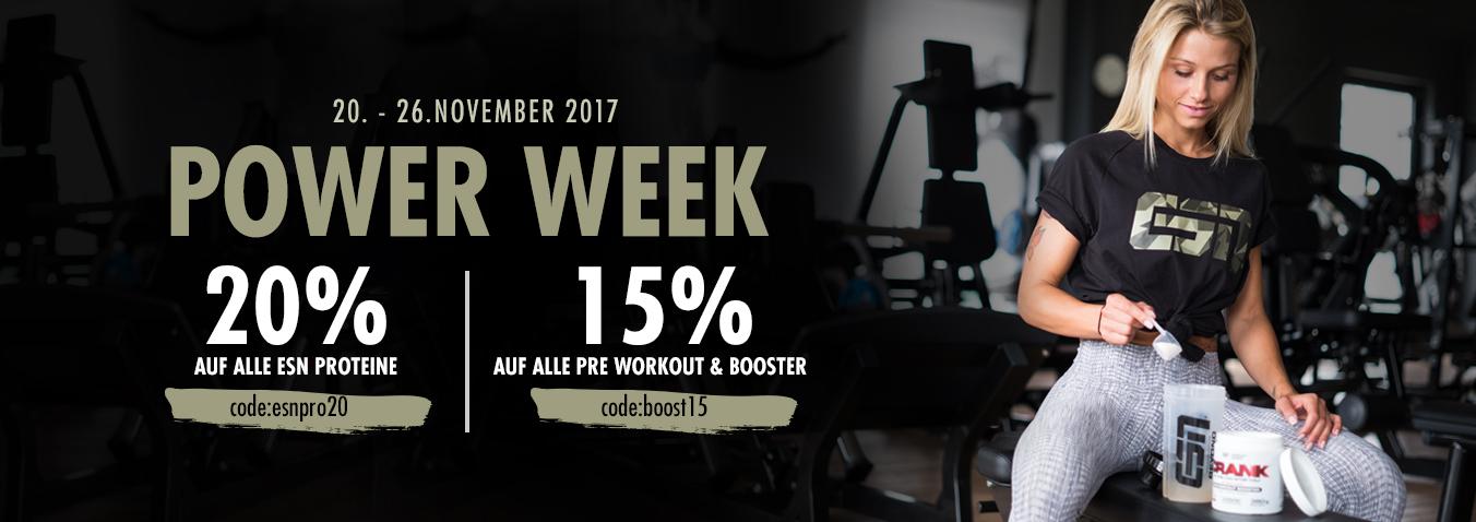 Power Week bei ESN!!! 20% auf Proteine und 15% auf ...
