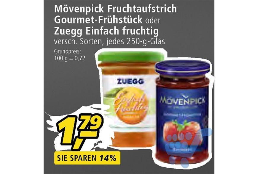 [Real] Mövenpick Gourmet Aprikose für 1,79€ mit 0,50€ Coupon nur noch 1,29€